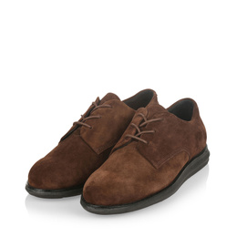 380g A chocolate brown suede
